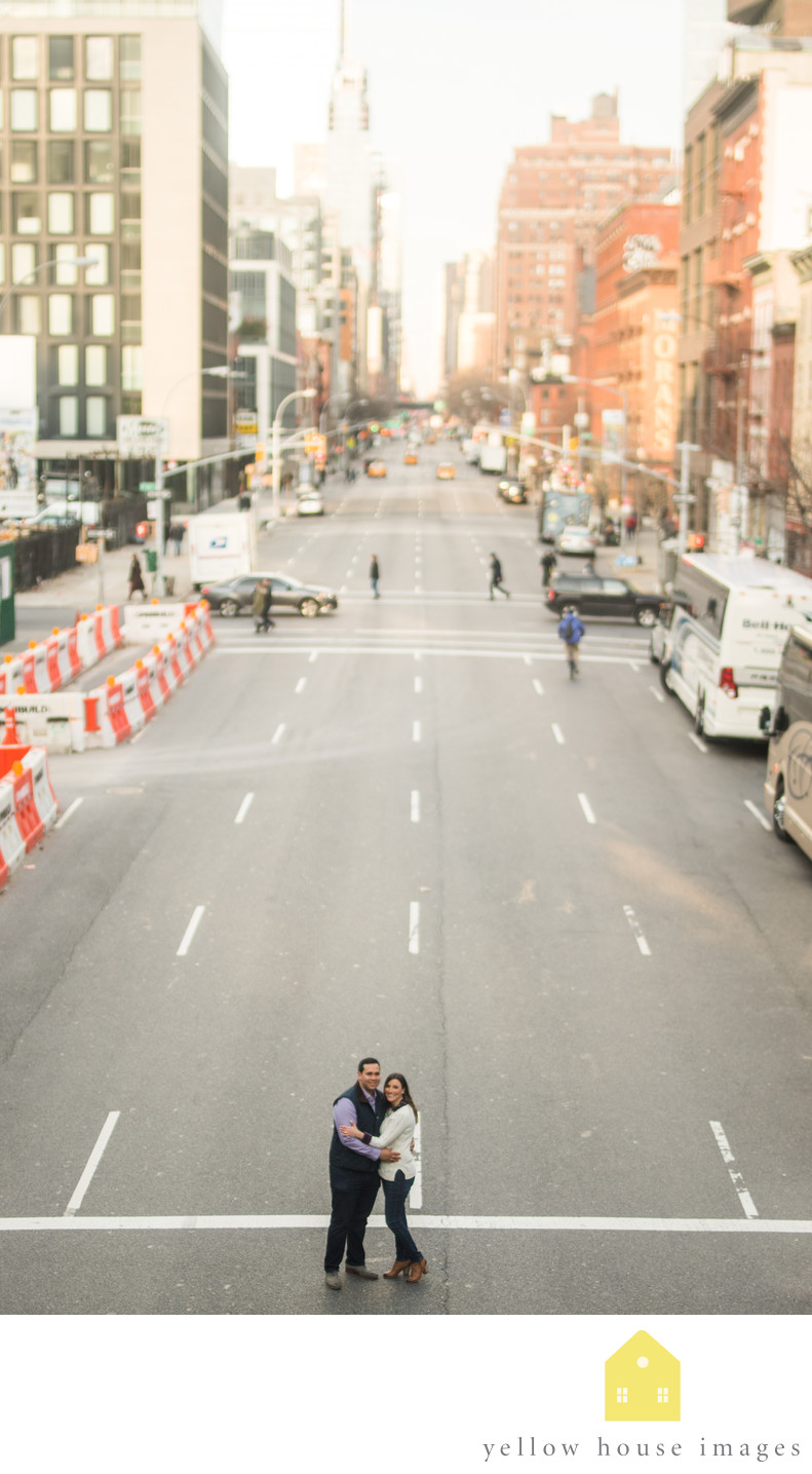 Manhattan New York Engagement Photography