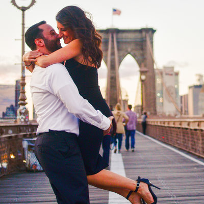 Brooklyn Bridge Engagement Photography