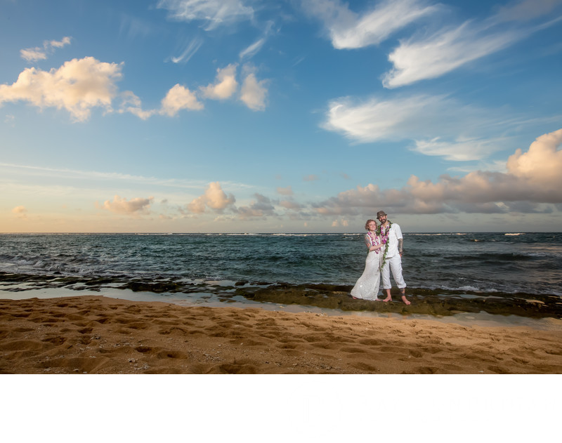 Kauai Beach Wedding by Ray Lundrigan Photography in WA