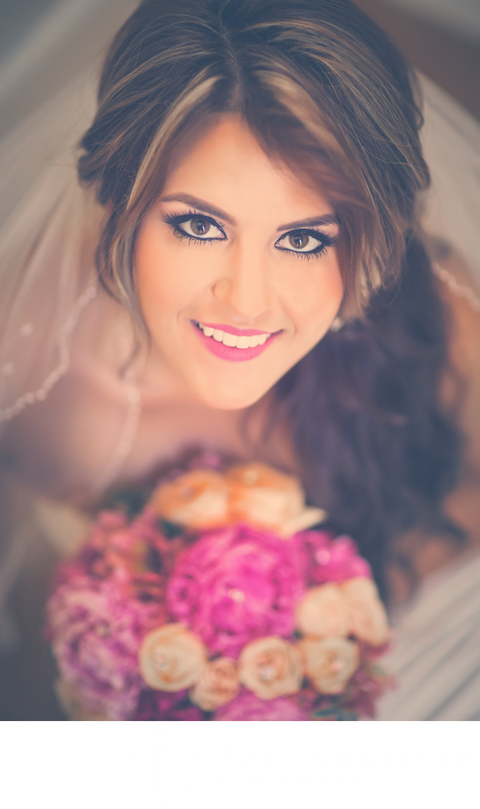 Bridal Portrait in Santa Barbara