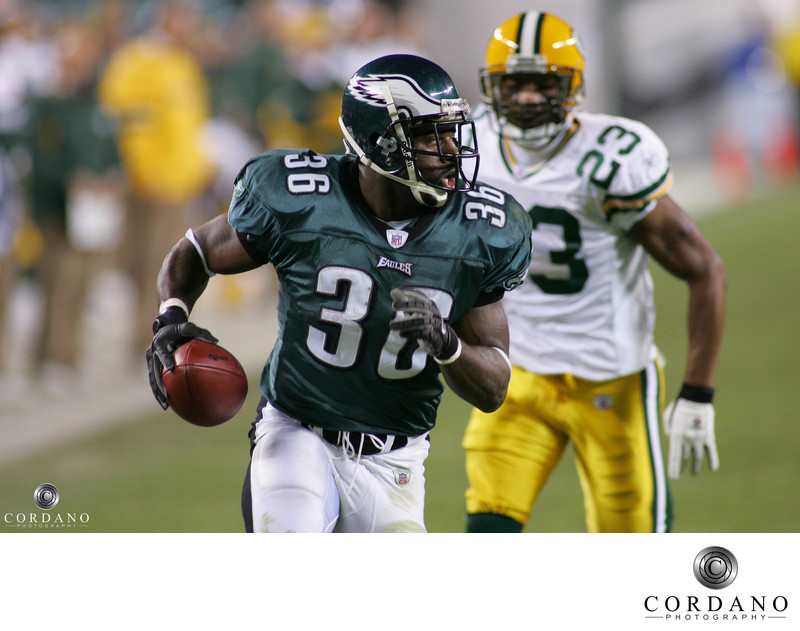 NFL Philadelphia Eagles Brian Westbrook Cordano Photography
