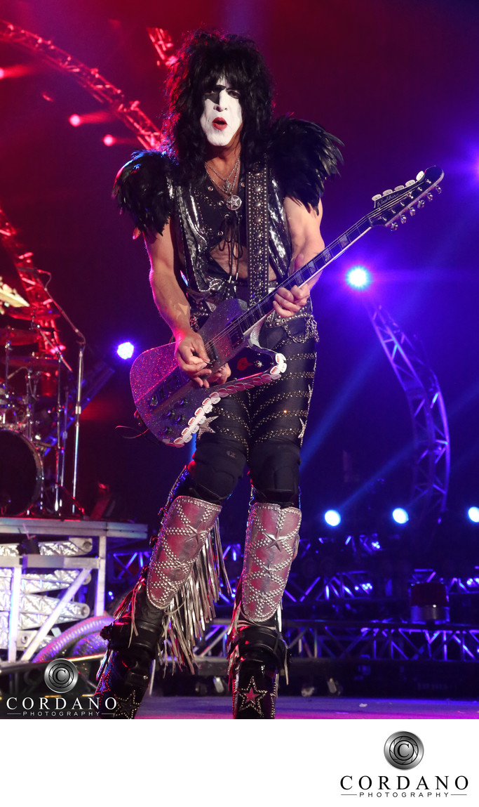 Kiss Concert Paul Stanley Cordano Photography