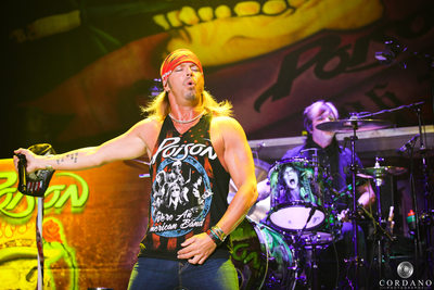 Poison Concert Atlantic City, NJ Cordano Photography