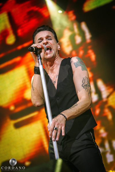 Depeche Mode Atlantic City, NJ Cordano Photography