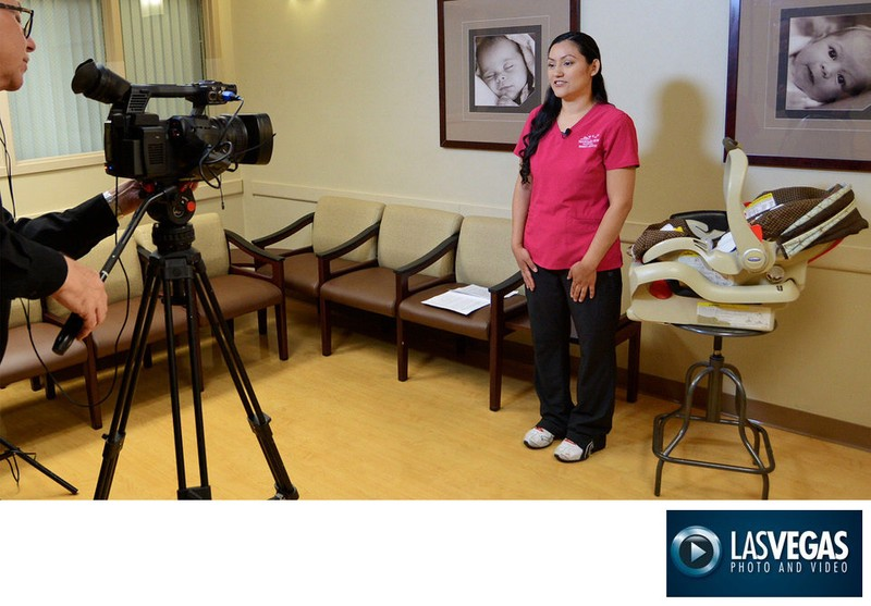 corporate videographer hospital training video