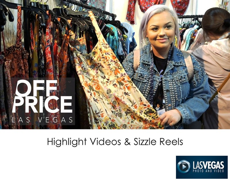 trade show highlight video sizzle reel with logo