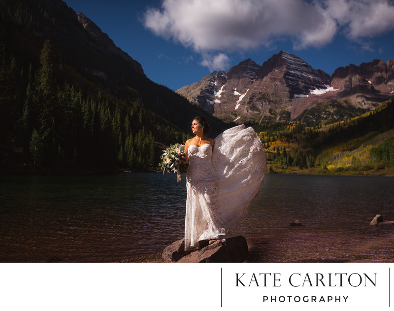 Maroon Bells Aspen Elopement Photographer