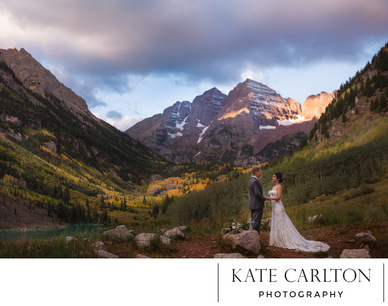 Hiking Mountain Elopement Photographer