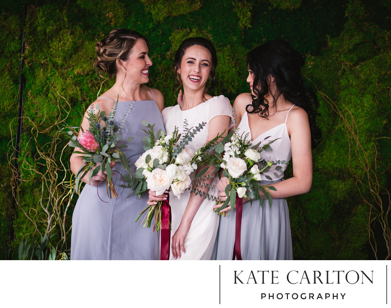 Moss Bridal Party Wedding Photographer