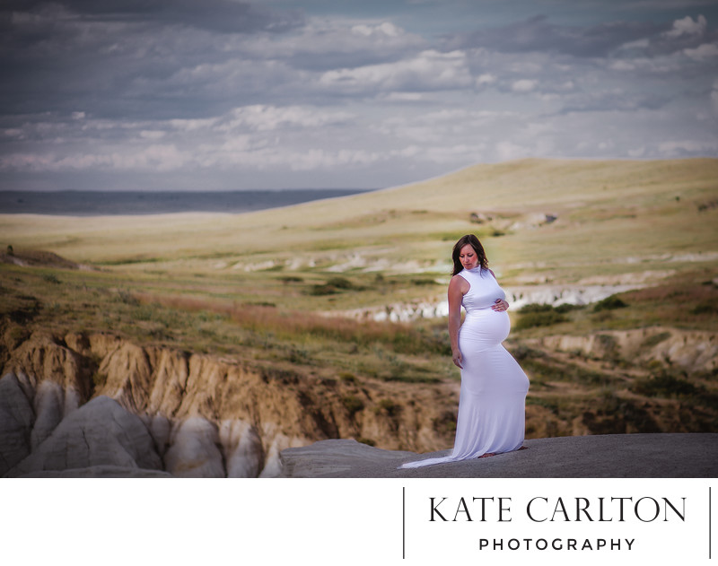 Calhan Paint Mines Maternity Portrait Photography