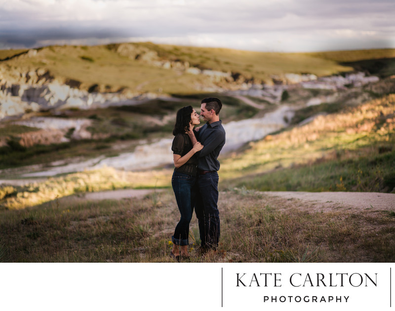 Calhan Paint Mines Couples Portrait Photography