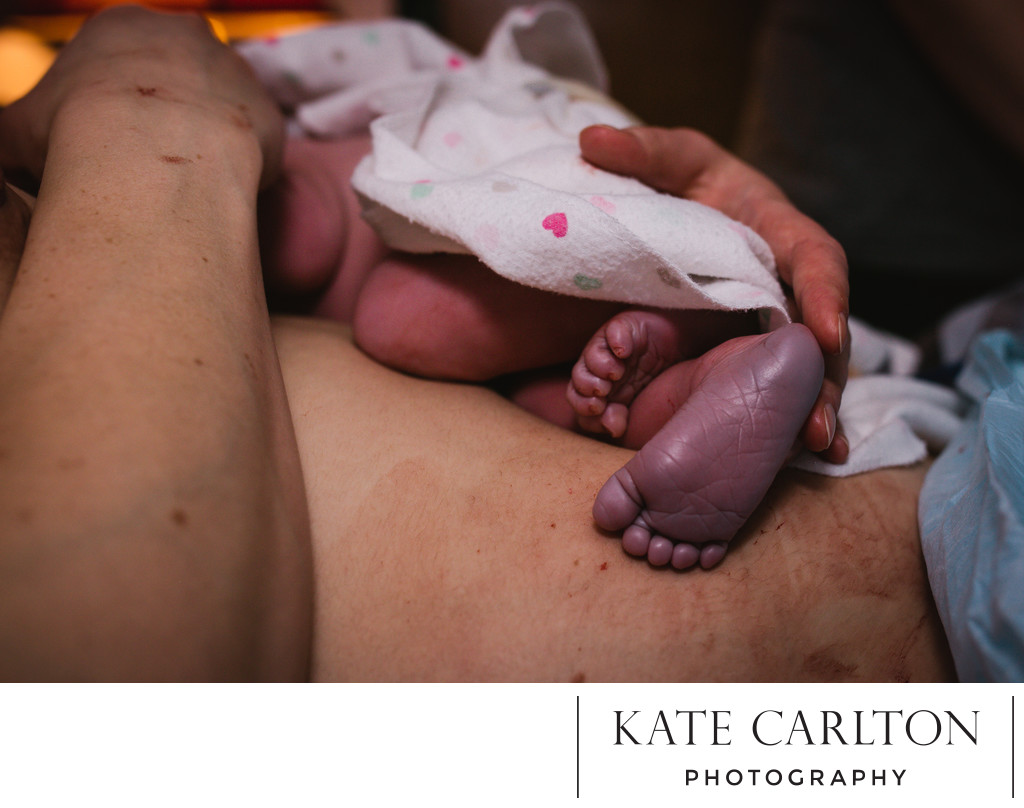 Loving Newborn Birth Photographer