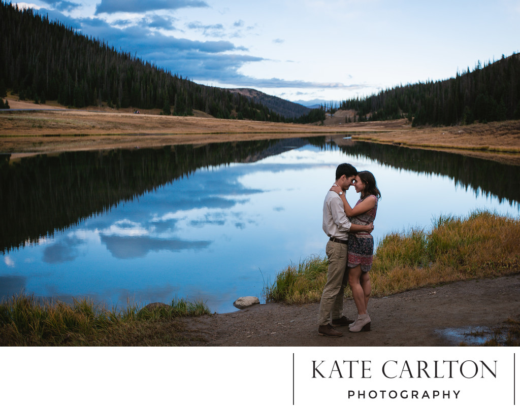 Rocky Mountain National Park Couple's Portrait