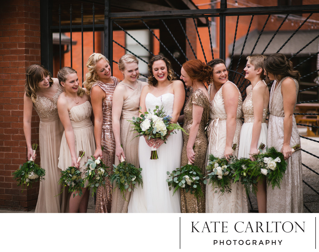 Bridal Party Wedding Photography