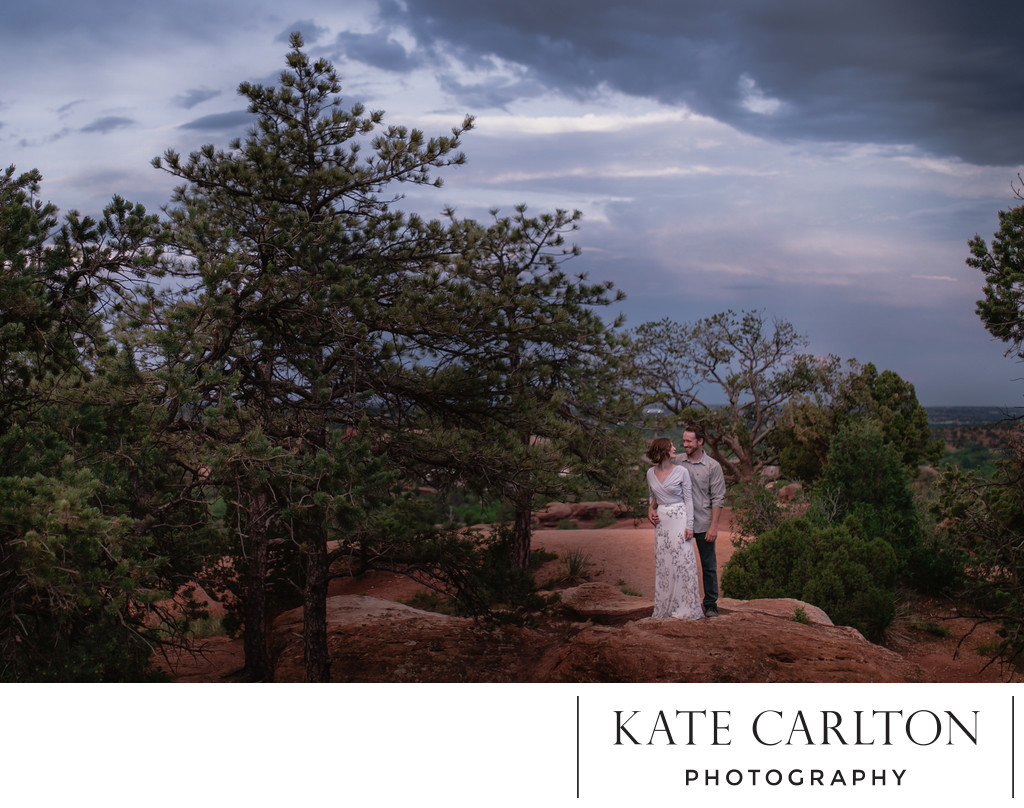 Garden of the Gods Couple's Photography