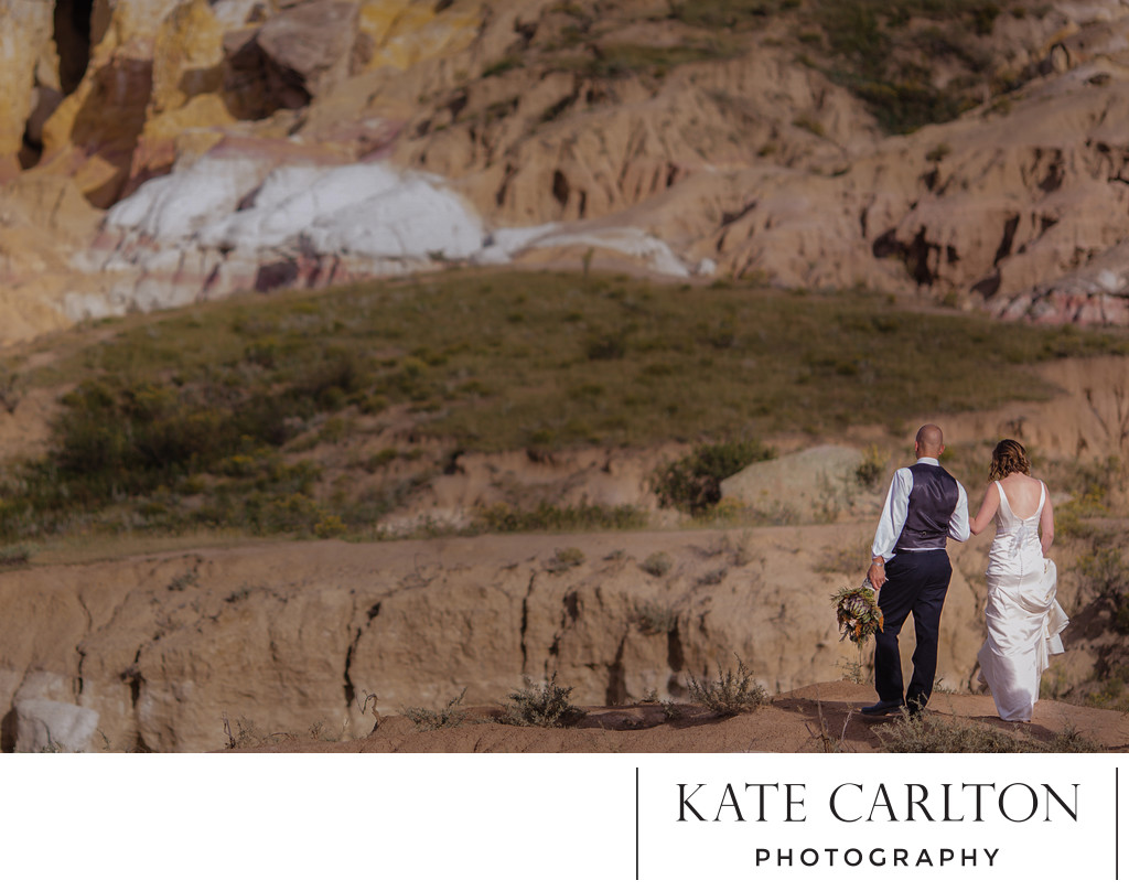 Paint Mines Wedding Photographer