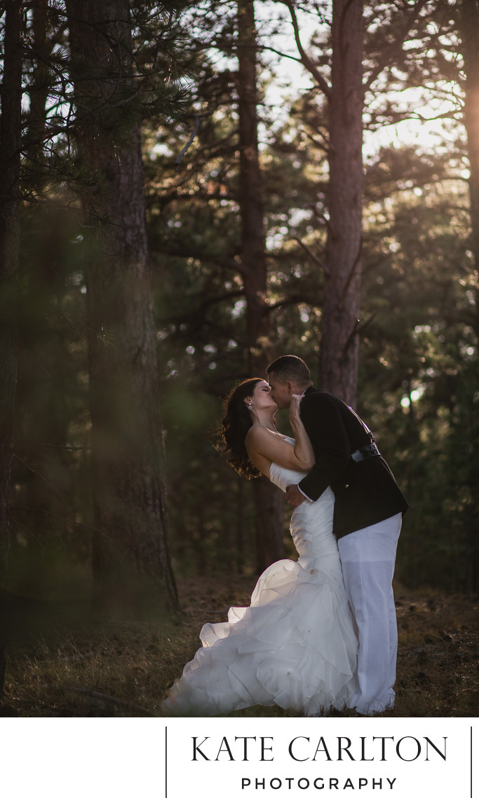 Mountain Pine Forest Wedding Photographer