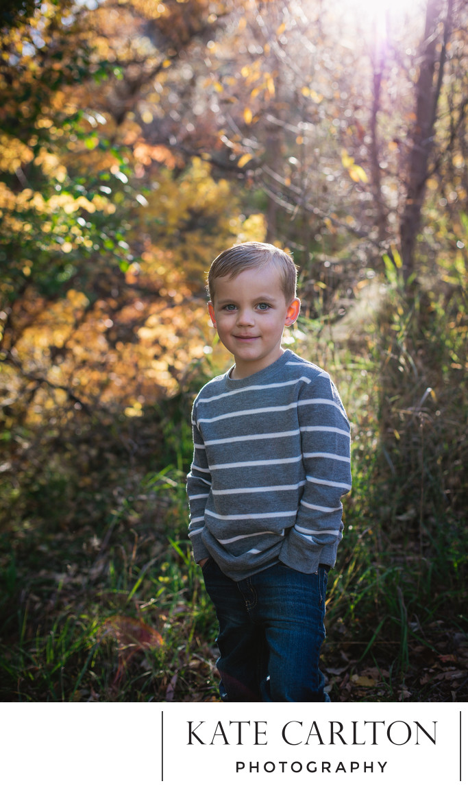 Autumn Children's Portrait Photography