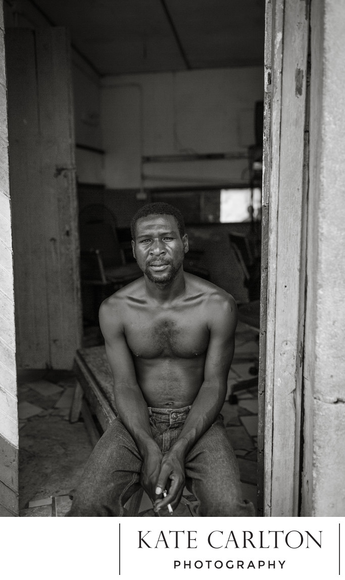 Portrait of a Barber, Jamaica