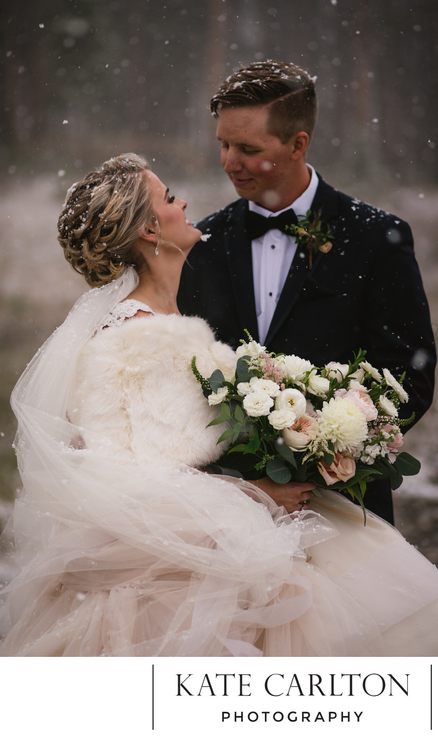 Ten Mile Station Winter Wedding