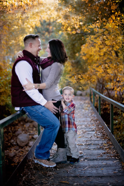 Autumn Family Portrait Photography