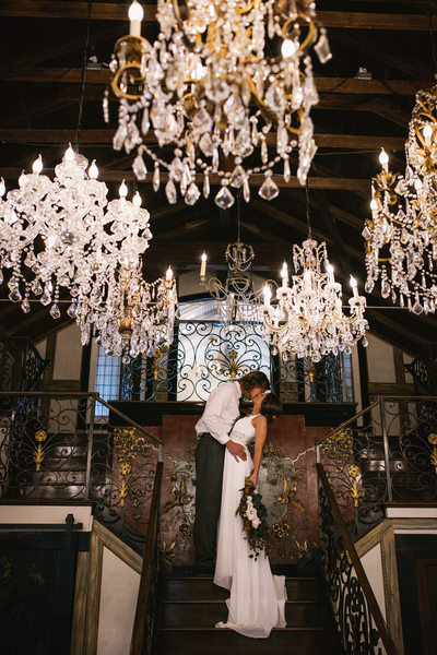 Chandelier Barn Wedding Photographer