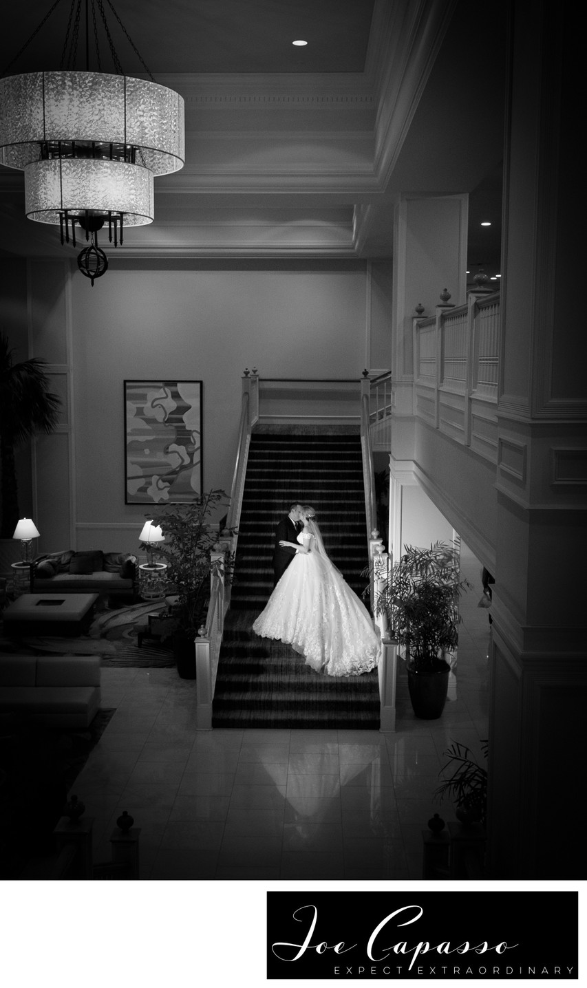 sanibel harbour marriott wedding staircase