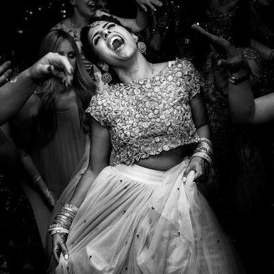 Indian Wedding Reception By Asian Photographer Home