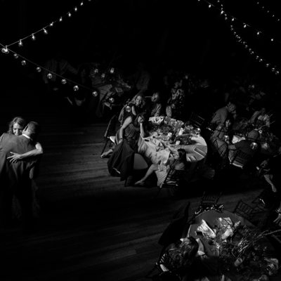 Dance Floor Spotlight at the Historic Valhalla Estate