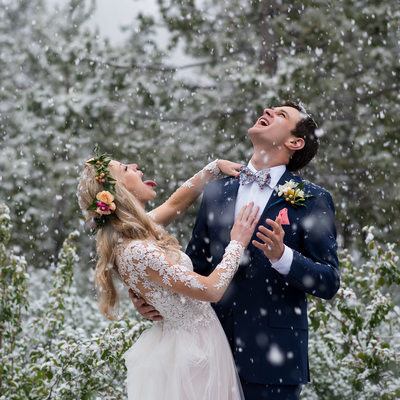 Catching Snowflakes in Tahoe in June