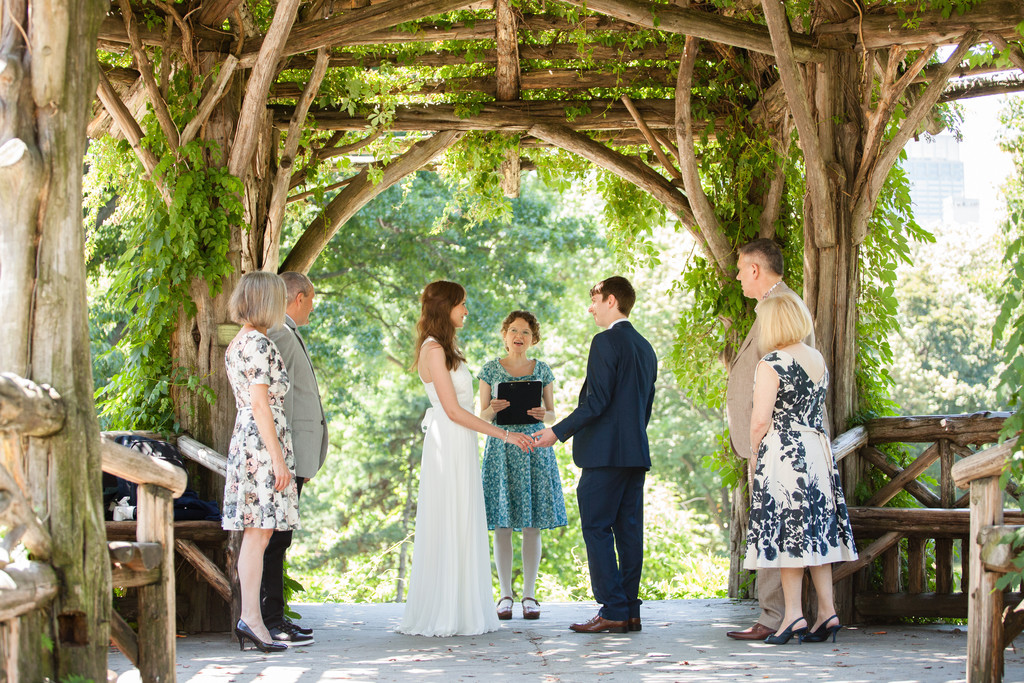 Dene Shelter Wedding Ceremony