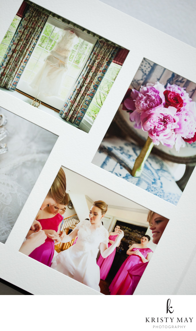 Overlay matted album from Queensberry