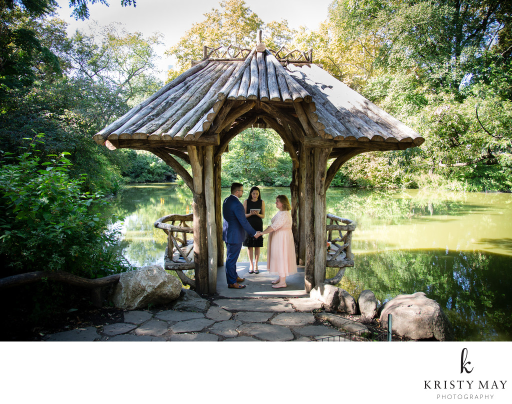 Wagner Cove Intimate Wedding Ceremony