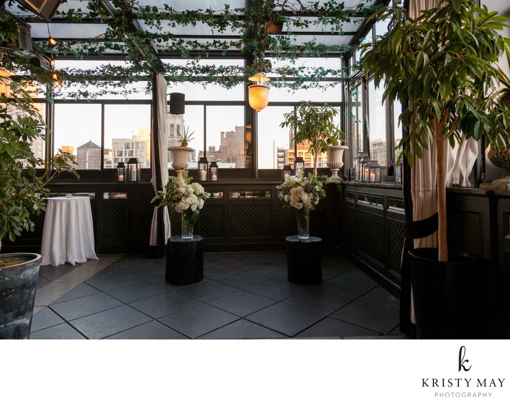 Small Wedding at Gramercy Park Hotel