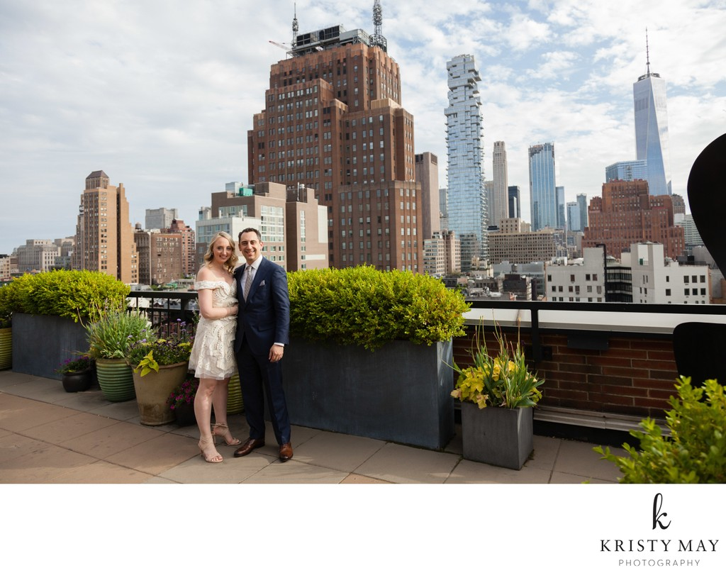 Soho Grand Rooftop Wedding