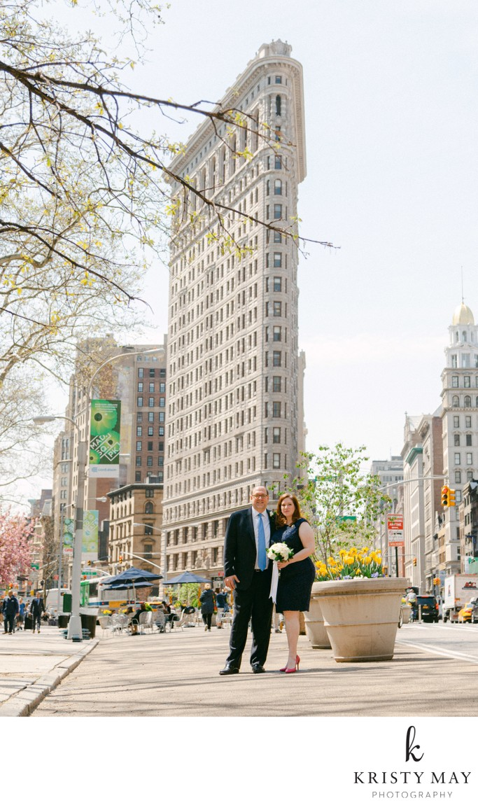 Spring Wedding Flatiron Building