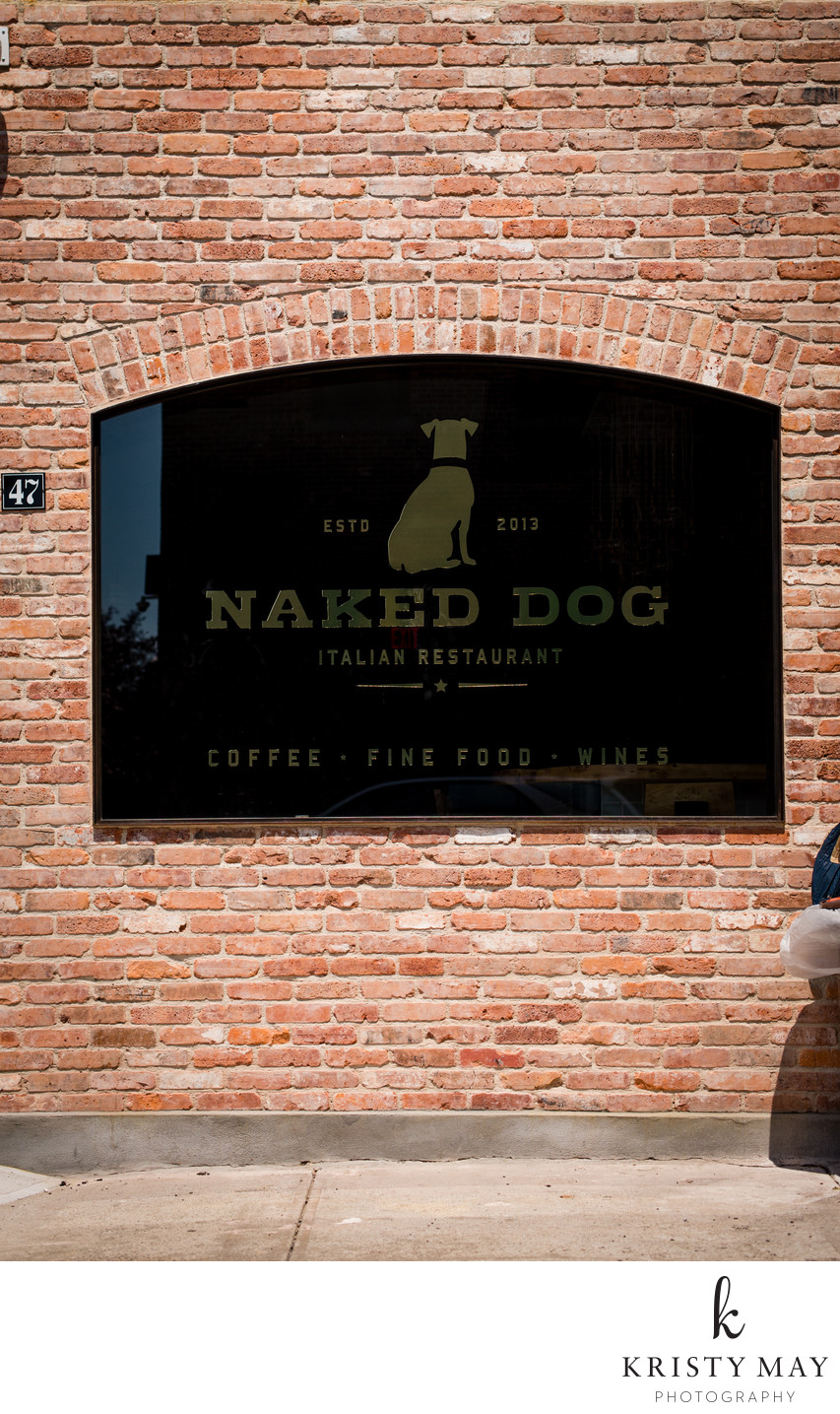 Naked Dog, Greenpoint, Brooklyn, 2015