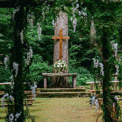 The Chapel in the Woods Wedding