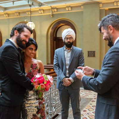 Beekman Hotel Intimate Wedding