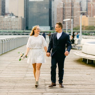 Gantry Plaza State Park Wedding