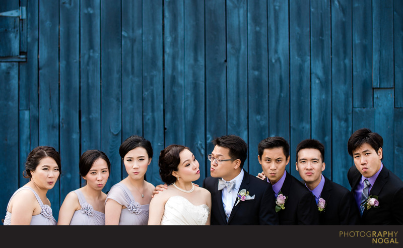 Wedding Party Best Blue Steel