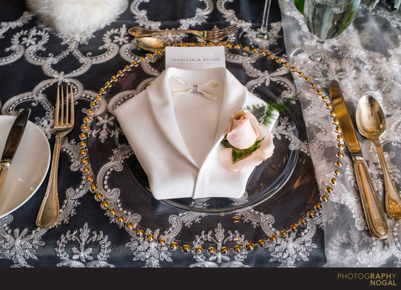 Groom's Place Setting at Graydon Hall Manor