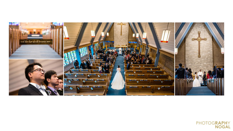 Wedding Ceremony at St. Mary's Anglican Church