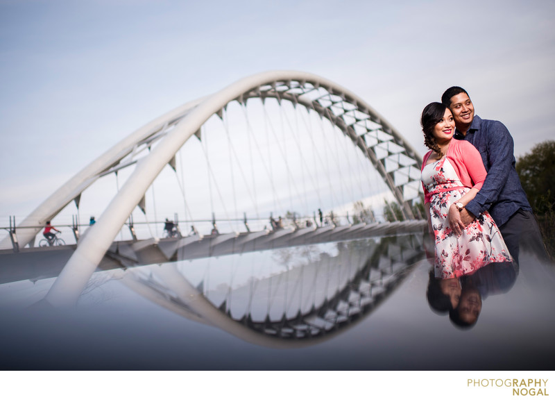 Humber Bridge Park Engagement Photos