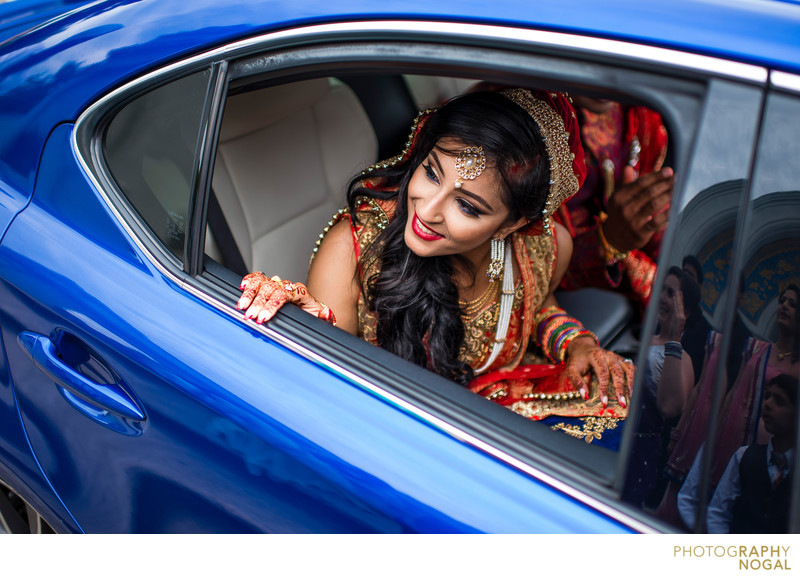 Bride Leaving Family To Start New Life With Groom