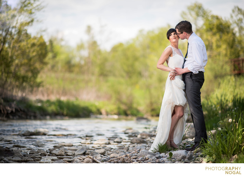 Couple in Stream at Whitevale Golf Club