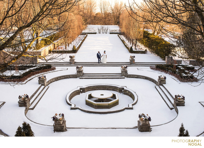 Winter Wedding at Graydon Hall Manor in Toronto