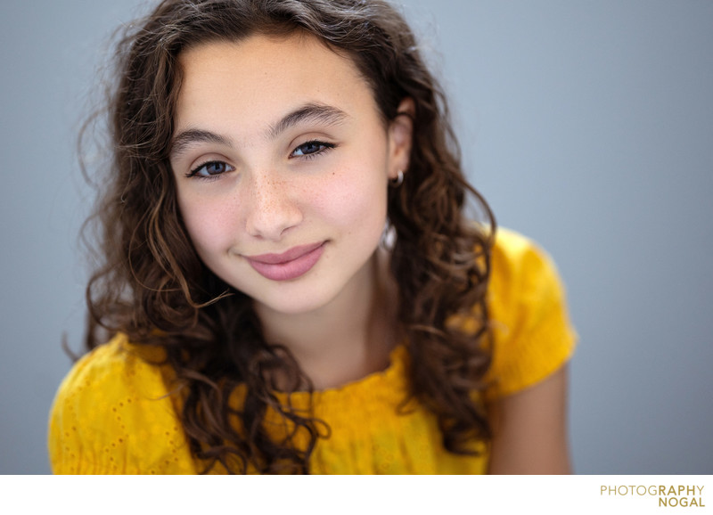 youth girl actor headshot