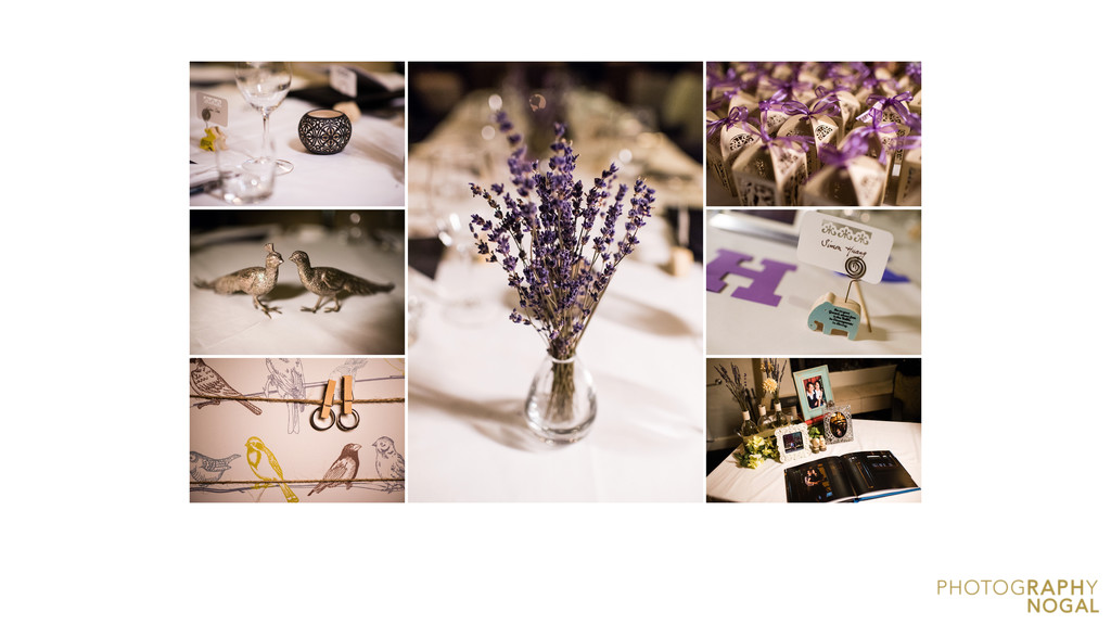 Wedding Details at Auberge du Pommier