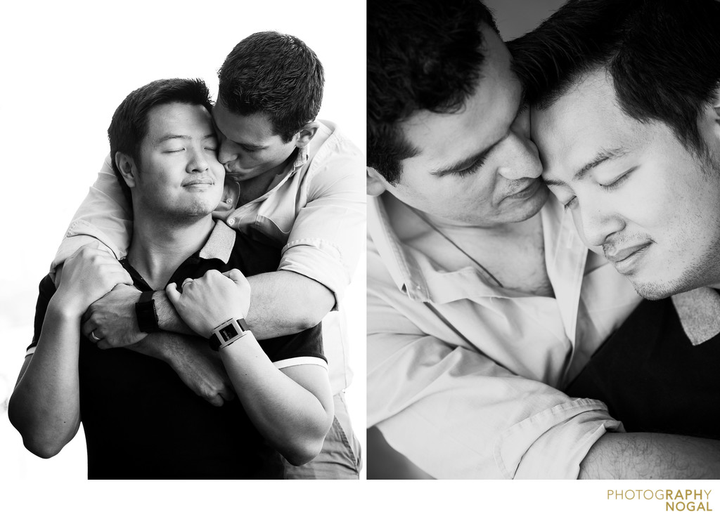 Gay Couple Engagement Photos in Toronto